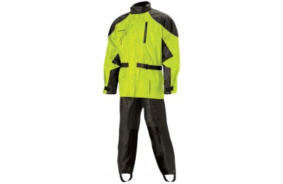Black Friday Sale - Nelson-Rigg AS-3000 Aston Hi Visibility 2-piece Rain Suit - AS3000HVY03LG
