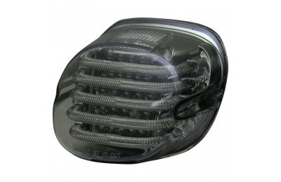 Black Friday Sale - Custom Dynamics ProBEAM Low Profile LED Taillight w/ Window, Smoke - PB-TL-LPW-S