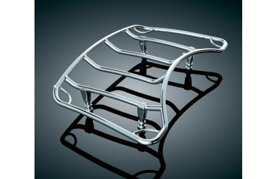 Black Friday Sale - Kuryakyn Multi-Rack Adjustable Trunk Luggage Rack Chrome - 7159