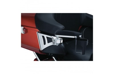 Black Friday Sale - Kuryakyn Stealth Passenger Armrests for Tour Pak - 8955