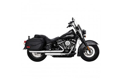 "Black Friday Sale - Vance & Hines Twin Slash 3"" Round Slip Ons Chrome - 16879"