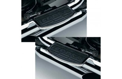 Black Friday Sale - Cobra Classic Chrome Passenger Floorboards - 06-3963