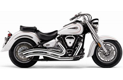 Black Friday Sale - Cobra Speedster Swept Exhaust Chrome - 2221
