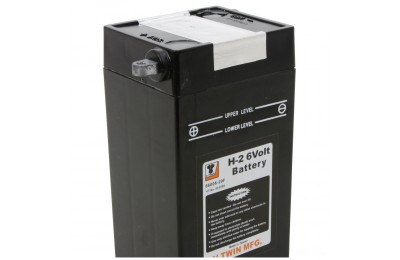 Black Friday Sale - V-Twin Manufacturing Replica 6-Volt Battery Model H-2 - 53-0795