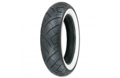 Black Friday Sale - Shinko 777 130/90-16 Wide Whitewall Front Tire - 87-4586