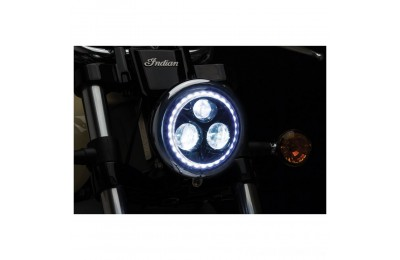"Black Friday Sale - Kuryakyn Orbit Vision 5 3/4"" LED Headlight - 2462"