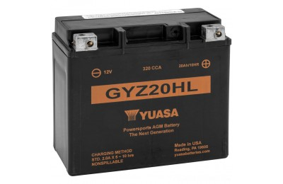 Black Friday Sale - Yuasa GYZ-Series Batteries - YUAM720GH