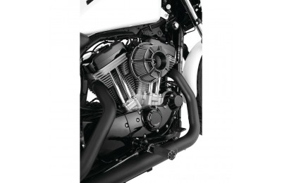 Black Friday Sale - Arlen Ness Inverted Sucker Beveled Black Air Cleaner Kit - 18-919