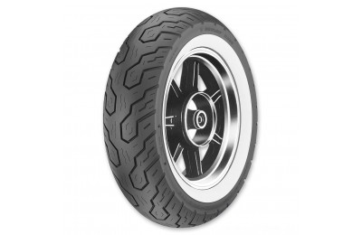 Black Friday Sale - Dunlop K555 170/80-15 Wide Whitewall Rear Tire - 45941232