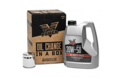 Black Friday Sale - Twin Power Synthetic Quick Change Oil Change Kit - 539057