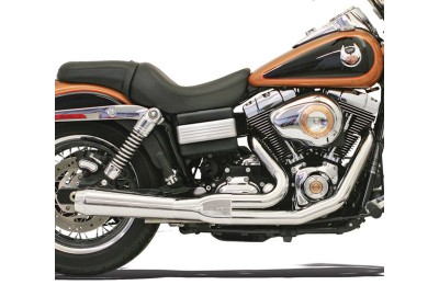 Black Friday Sale - Bassani Road Rage Chrome 2-into-1 Short Megaphone Muffler - 13112J
