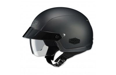 Black Friday Sale - HJC IS-Cruiser Matte Black Half Helmet - 0824-0135-06