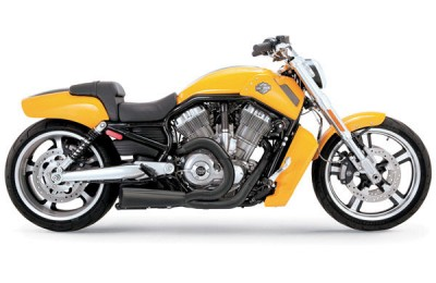 Black Friday Sale - Vance & Hines Competition Series 2-into-1 Exhaust Matte Black - 75-116-9