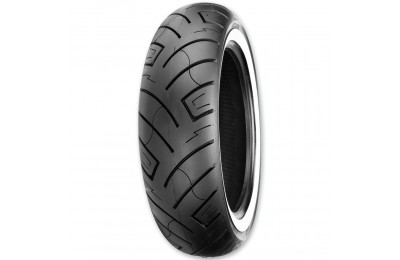 Black Friday Sale - Shinko 777 MU85B16 Wide Whitewall Rear Tire - 87-4569