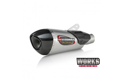 Black Friday Sale - Yoshimura Works Finish Street Alpha T Slip-On Exhaust - 13100BP520
