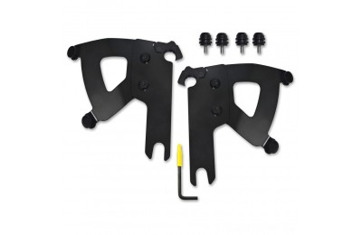 Black Friday Sale - Memphis Shades Road Warrior Faring Black Trigger Lock Mount Kit - MEB2040