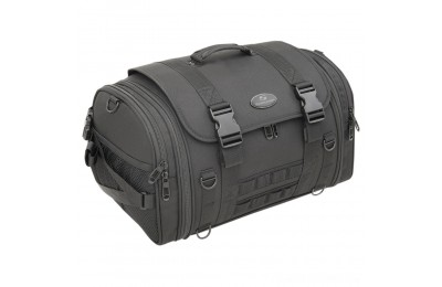 Black Friday Sale - Saddlemen TR2300DE Tactical Deluxe Sissy Bar Bag - EX000043S