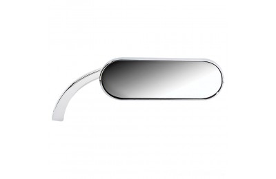 Black Friday Sale - Arlen Ness Chrome Mini Oval Micro Mirrors (Sold Individually) - 13-407