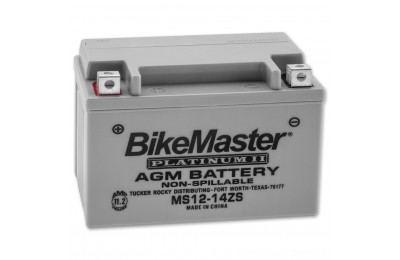 Black Friday Sale - BikeMaster AGM Platinum II Battery - MS12-14ZS