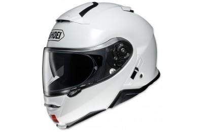 Black Friday Sale - Shoei Neotec II Gloss White Modular Helmet - 77-11865