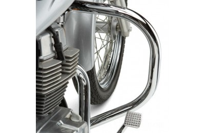 "Black Friday Sale - Cobra Standard Chrome 1-1/4"" Freeway Bars - 01-1118"