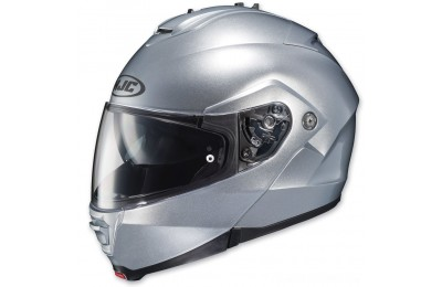 Black Friday Sale - HJC IS-MAX II Silver Modular Helmet - 980-574