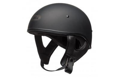 Black Friday Sale - Bell Pit Boss Sport Matte Black Half Helmet - 7080705