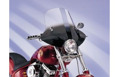Black Friday Sale - Memphis Shades Demon Gradient Black Handlebar Mount Windshield - MEM2211
