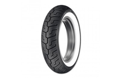 Black Friday Sale - Dunlop D401 150/80B16 Wide Whitewall Rear Tire - 45064563