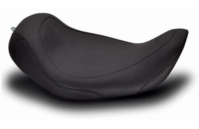 Black Friday Sale - Mustang Black Wide Tripper Solo Seat - 76700