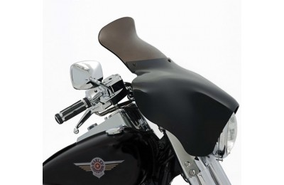 "Black Friday Sale - Memphis Shades Batwing Fairing 9"" Smoke Spoiler Windshield - MEP8561"