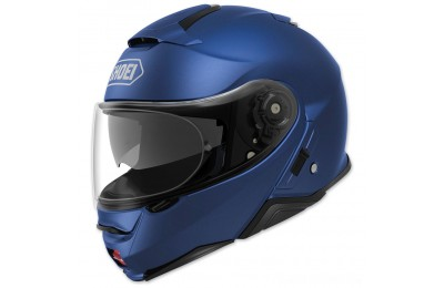 Black Friday Sale - Shoei Neotec II Matte Blue Metallic Modular Helmet - 77-11924