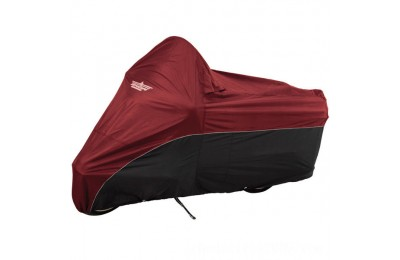 Black Friday Sale - UltraGard Cranberry/Black Bike Cover - 4-472AB-XL