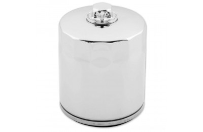 Black Friday Sale - Twin Power Chrome Oil Filter with Nut - JO-M150C