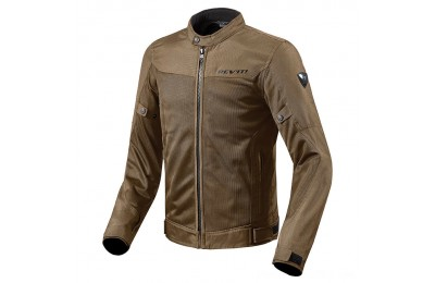 Black Friday Sale - REV'IT! Men's Eclipse Brown Jacket - FJT223-0700-LG