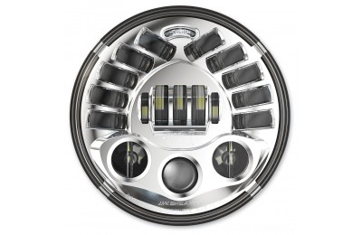 "Black Friday Sale - J.W. Speaker 7"" LED Chrome Adaptive 2 Series Headlight - 0555031"