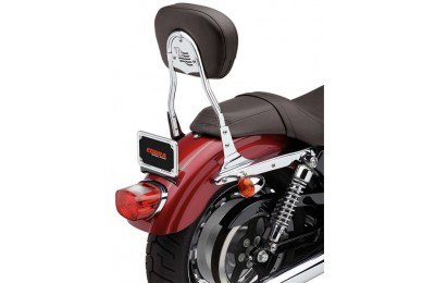 Black Friday Sale - Cobra Short Round Sissy Bar with Pad - 602-1303