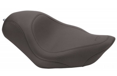 Black Friday Sale - Mustang Black Wide Tripper Solo Seat - 76724