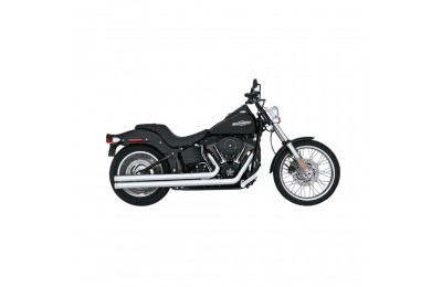 Black Friday Sale - Vance & Hines Big Shots Long Chrome Exhaust - 17923