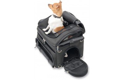 Black Friday Sale - Saddlemen PC3200 Convertible Pet Carrier - 3515-0131