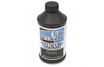 Black Friday Sale - Drag Specialties DOT 5 Brake Fluid - 37030014