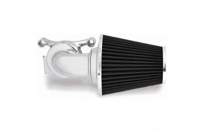 Black Friday Sale - Arlen Ness 90° Monster Sucker Air Cleaner No Cover Chrome - 81-001
