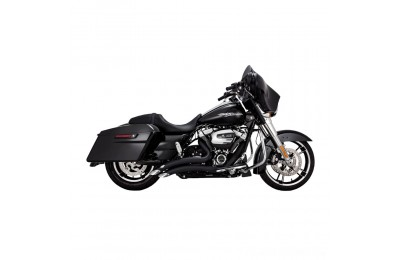 Black Friday Sale - Vance & Hines Big Radius 2 into 2 Black Exhaust - 46073