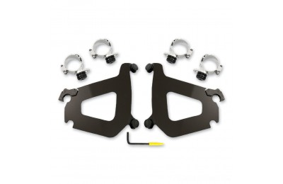 Black Friday Sale - Memphis Shades Bullet Fairing Black Trigger Lock Mount Kit - MEB2010