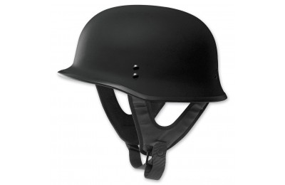 Black Friday Sale - FLY Racing 9MM Flat Black Helmet - 73-8221L