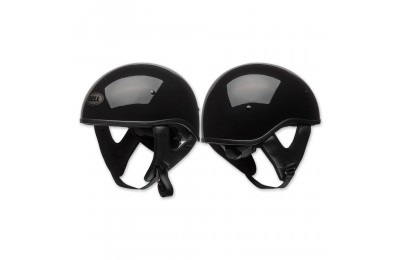 Black Friday Sale - Bell Pit Boss Sport Gloss Black Half Helmet - 7080701