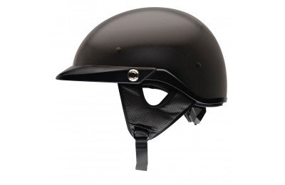 Black Friday Sale - Bell Pit Boss Matte Black Half Helmet - 2033202