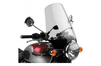 Black Friday Sale - National Cycle Street Shield EX Light Gray Windshield - N2568-01