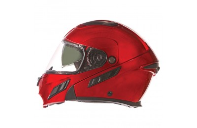 Black Friday Sale - Zox Brigade SVS Wineberry Modular Helmet - 88-30754