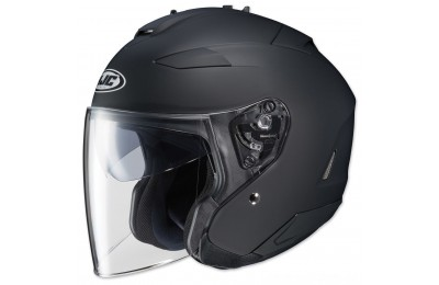 Black Friday Sale - HJC IS-33 II Matte Black Open Face Helmet - 0833-0235-08